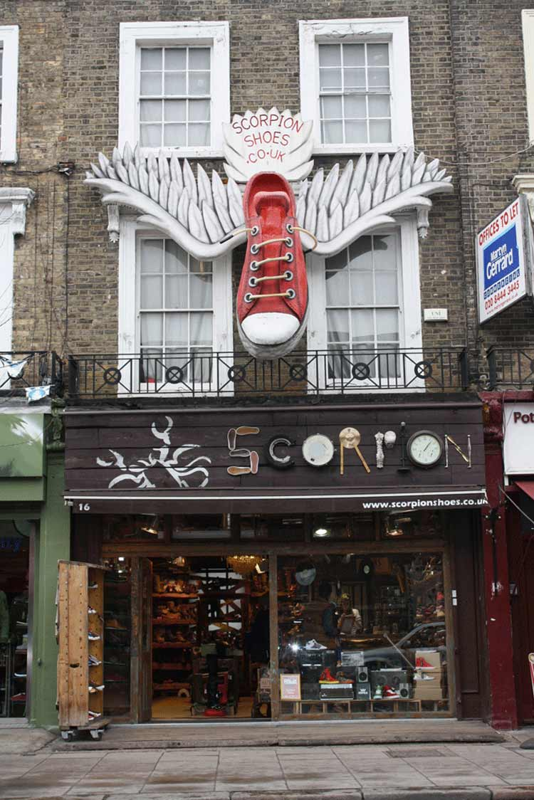 Camden Lock - Scorpion Shoes That Are Savvy In Style