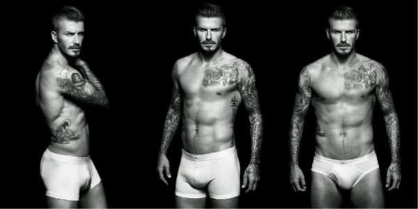 David Beckham - H&M underwear