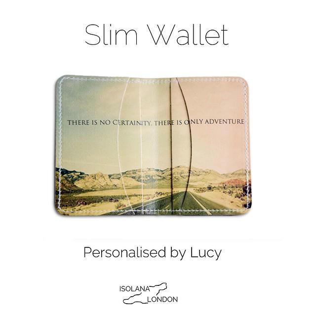 Isolana Customised leather wallet