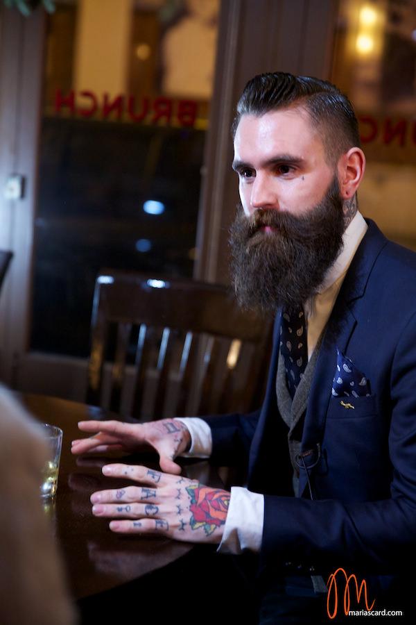 Ricki Hall - Beard & Tattoo Model