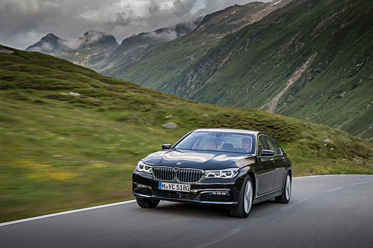 The new BMW 740e and 740Le xDrive