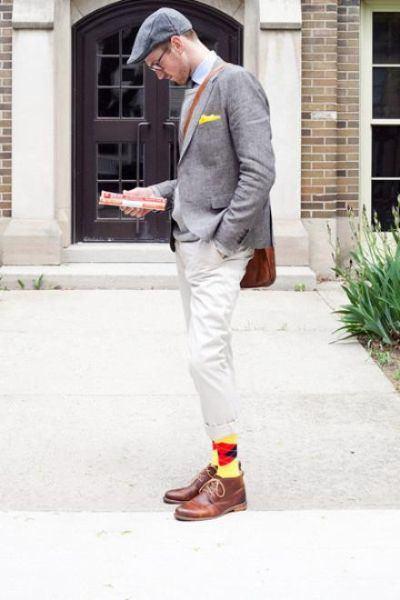 coleandparker socks for men