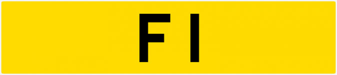Most Expensive Private Number Plates