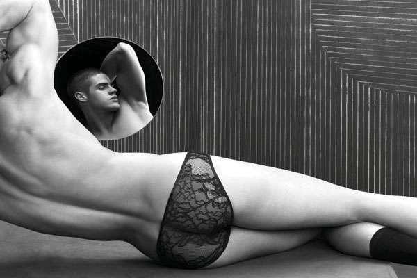 men's male lace underwear