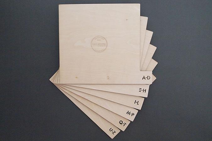 Kate Koeppel Vinyl Dividers