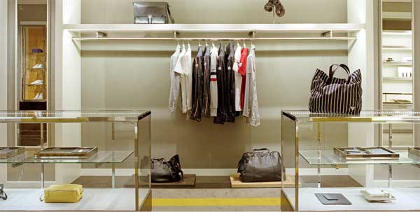 santa eulalia barcelona fashion store men's section 3