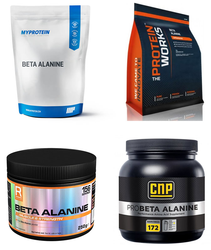 Beta-Alanine Supplements