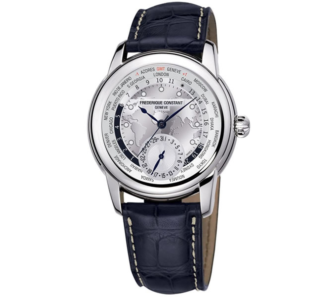 Frederique Constant Worldtimer Watch
