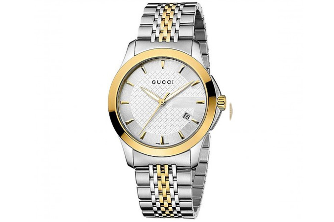 Gucci G-Timeless Two-Tone