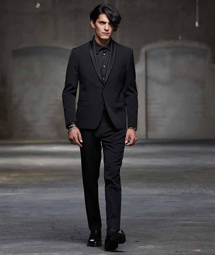 black-no-tie