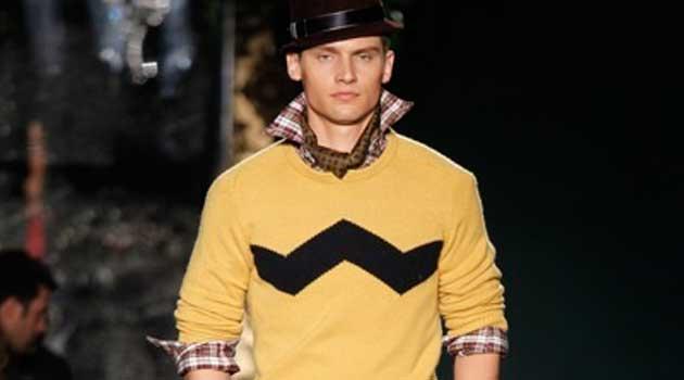 christmas jumper 2012 for men - yellow