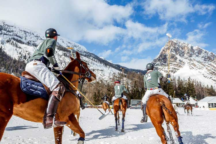 Cortina Italy – Polo In The Snow
