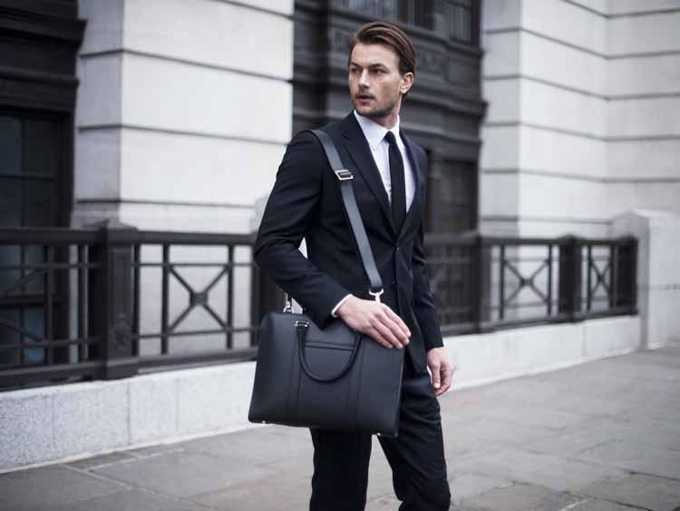 Opperman London – Luxury Palissy Briefcase