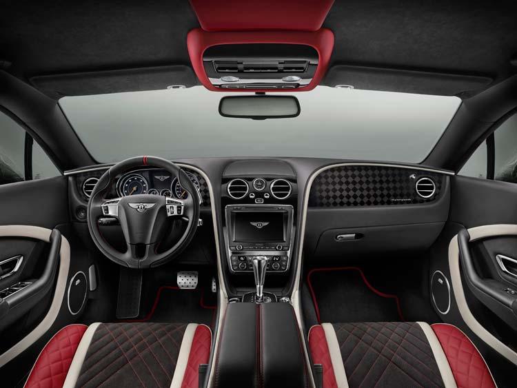 Bentley Continental Supersports Interior