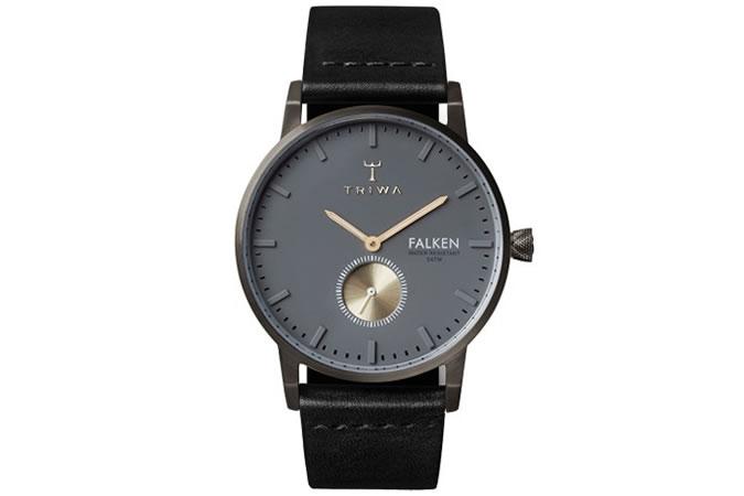 Triwa Falken Walter Black Classic Watch