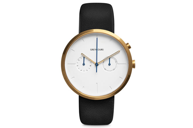 Greyhours Gold Watch