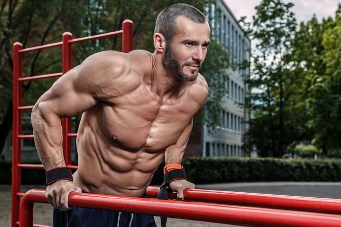 Shirtless Workout