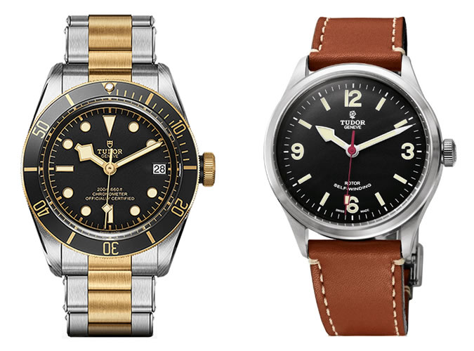 the best Tudor watches for men