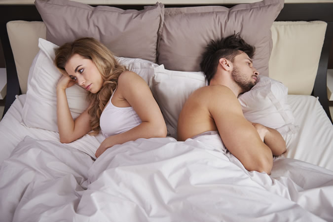 Low T levels can cause a lower sex drive and erectile dysfunction