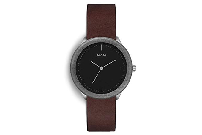 Mam Originals Stainless Dark Watch