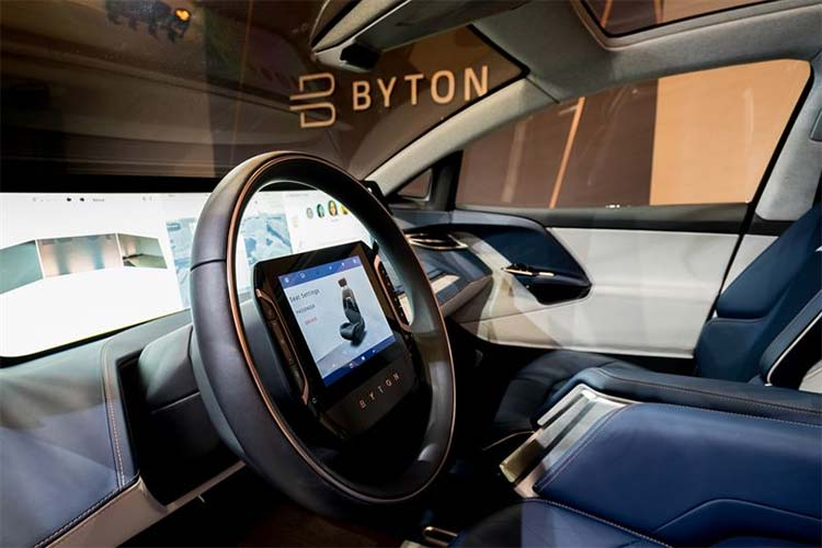 European Premiere of the BYTON Concept Car – High-tech And Lounge Appeal