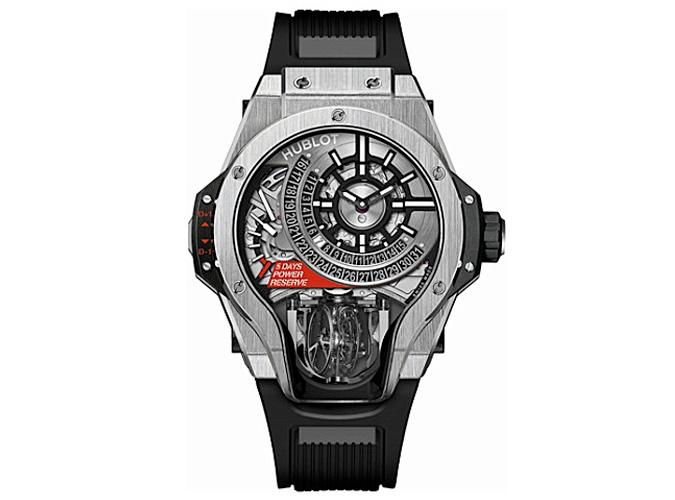 HUBLOT Tourbillon Bi-Axis titanium watch