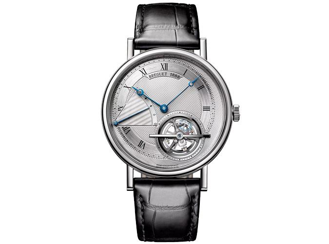 Breguet Classique Automatic Platinum Silver Dial Mens Watch