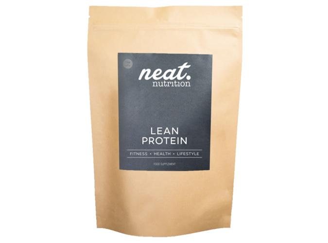 Neat protein powder