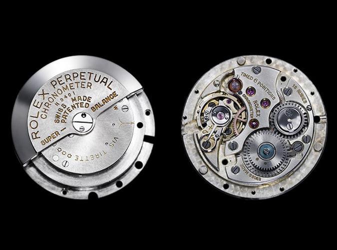 Swiss Watch Movement - Rolex