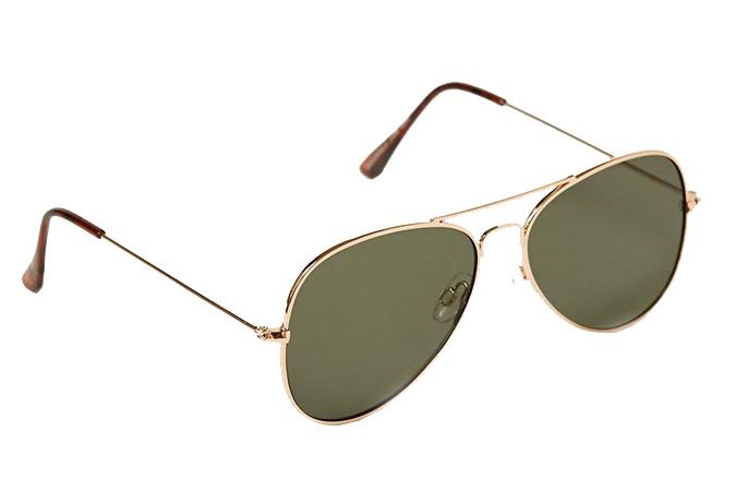 Topman Black Hunter Sunglasses