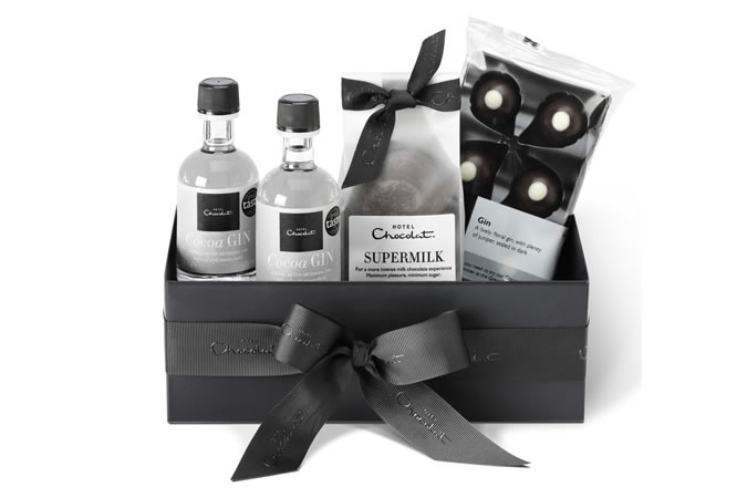 Hotel Chocolat Chocolate & Gin Gift Collection