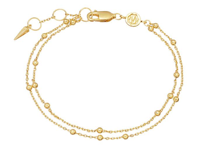 Missoma Double Chain Bracelet