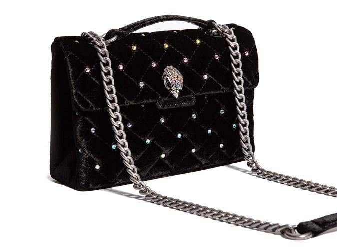 Kurt Geiger Velvet Bag