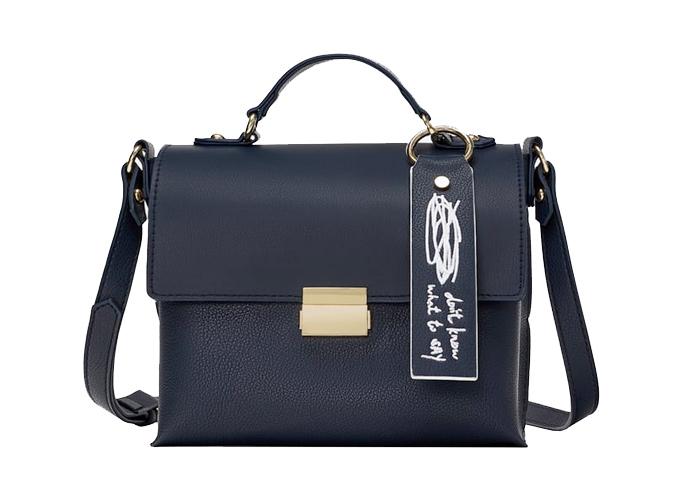 Zara Printed Crossbody Bag