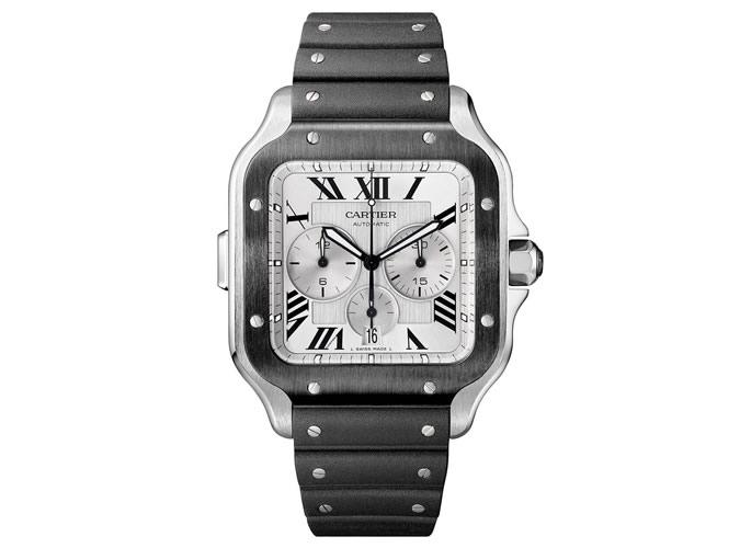 Cartier Santos de Cartier Chronograph Watch