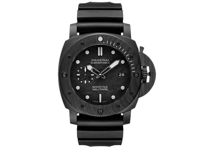 Panerai Submersible Marina Militare Carbotech 47mm Watch