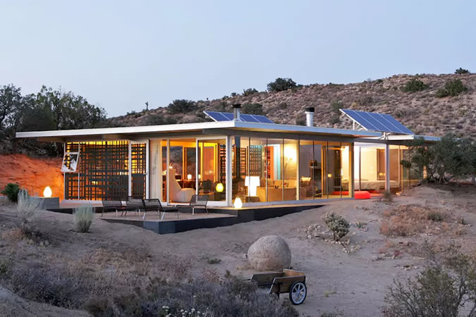 Off Grid House, Joshua Tree, California