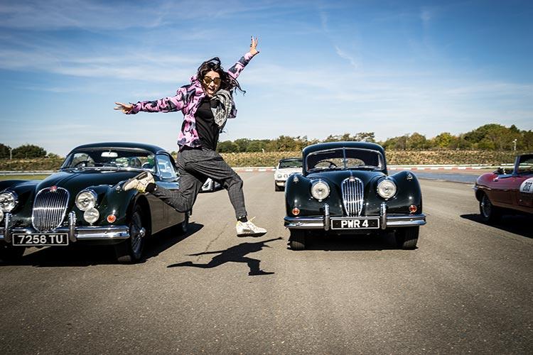 Jaguar Classic Car Track Day MenStyleFashion 2018 Gracie Opulanza (38)