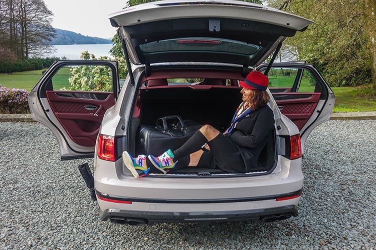 Bentley SUV Bentayga boot space
