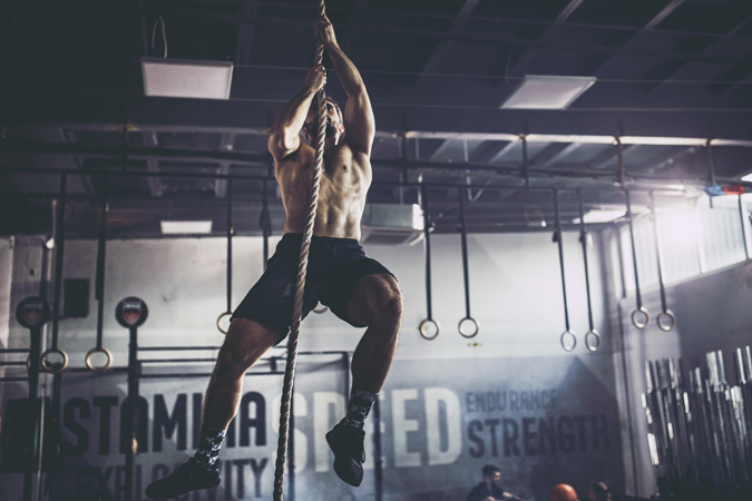 Rope Climb Exercise