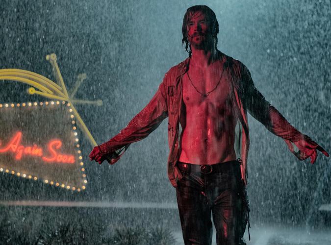 Chris Hemsworth Bad Times at the El Royale