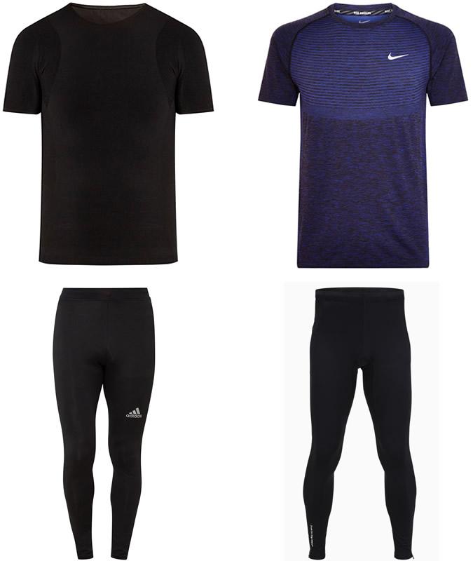 Men's slim-fitting training gear