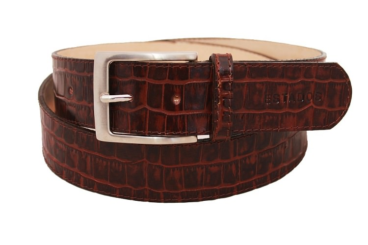 Estados-luxury-leather-mens-stitched-belt-in-choc-croc-and-suede-cutout-newsletter