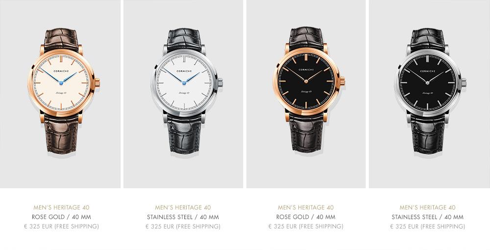 Men's Corniche Heritage 40 Watch