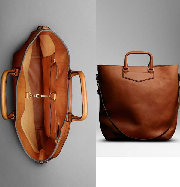 Burberry mans bag tote 2012