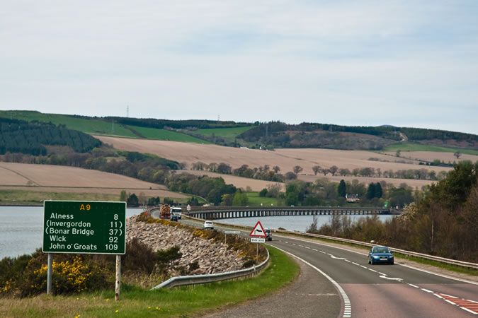 The Best Driving Roads In Britain - A9/A99 From Inverness To John O'Groats