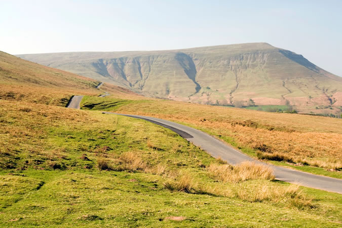 The Best Driving Roads In Britain - A4069 Brecon Beacons
