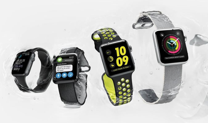 The Apple Watch 2 has built in GPS