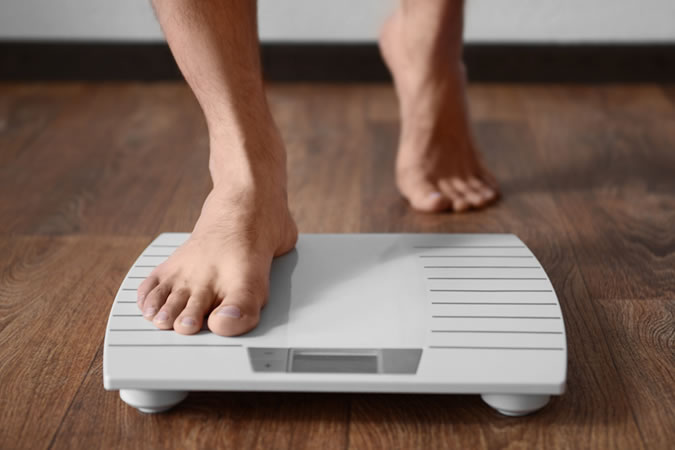 Measuring your weight regularly and setting targets is proven to help you stay motivated