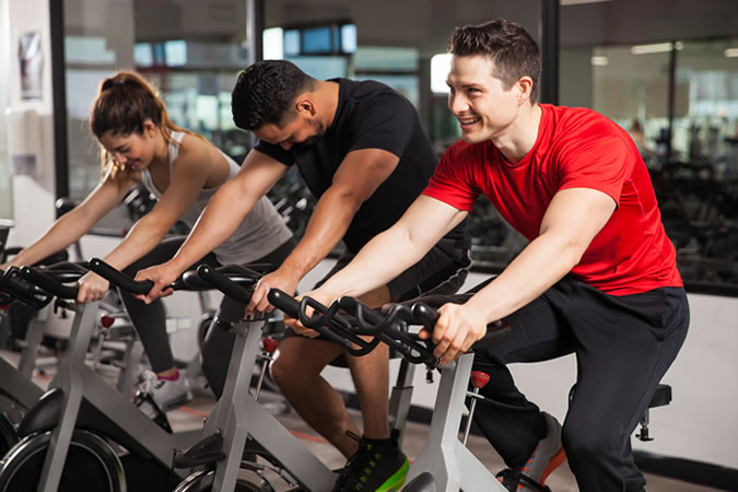 Switch up your exercise routine regularly